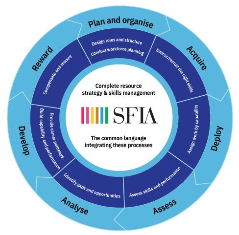 SFIA Process Wheel